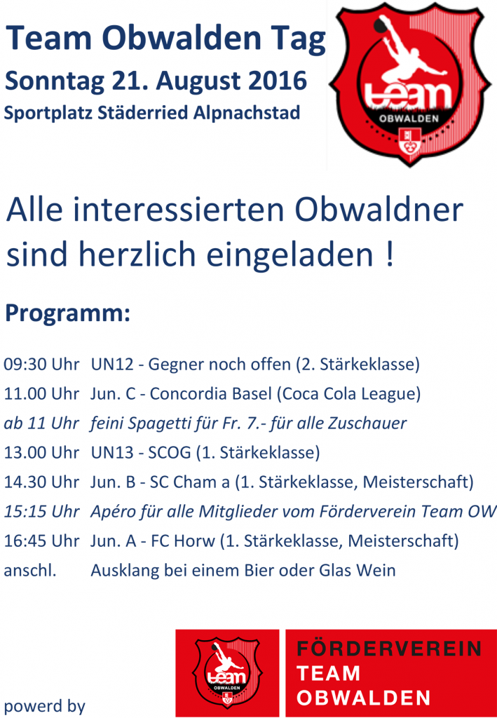 Inserat-Team-OW-Tag
